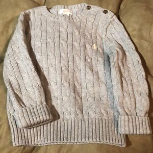 Toddler Boy Polo Sweater